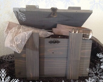 Wooden slate grey color