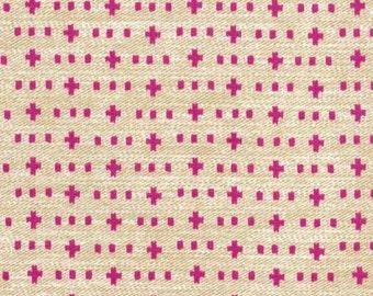 Weave It Alone (Hot) - Wove It or Weave It - Michael Miller Fabrics - 1 Yard