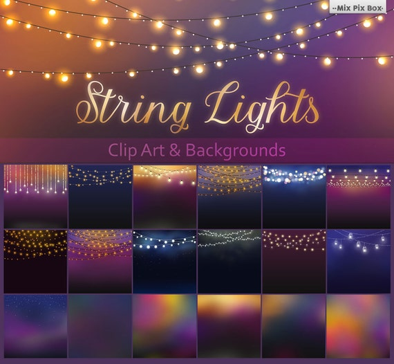 Patio Party Lights String Patio lights clipart wedding lights party lights string workwithnaturefo