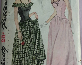 Vintage Simplicity Sewing Pattern 1453 Size 14 bust 32