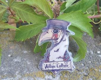 Vulture Culture Pin
