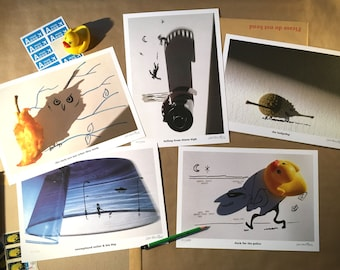 Signed PRINTS – TAKE FIVE ! (Dave Brubeck style)