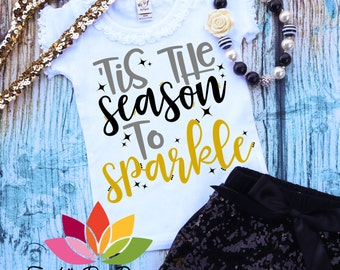 New Years SVG, Tis the Season to Sparkle, Queen of 2018, Happy New Year, Fireworks cut file for silhouette cameo and cricut