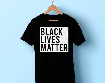 Black Lives Matter Shirt - #Blacklivesmatter black T-shirt