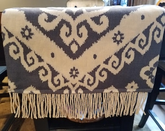 Blue and white Table Runner and Dresser Scarf