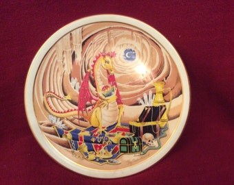 The Guardian Dragon by Joy Mulholland Myth and Magic Collection Plate Number 3