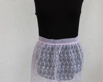 Pink Lace Appron