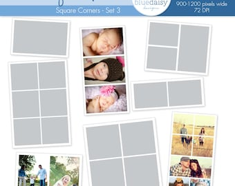 Photo Blog Template Collection (Set 3 - Square) - Photographer Resources