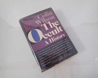 The Occult A History - Colin Wilson - Random House 1971 Hardcover w/ Dust Jacket