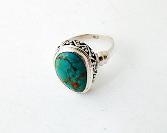 Kingman Mine Turquoise Ring