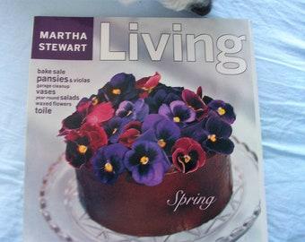 Martha Stewart Living Magazine May 1998 Spring