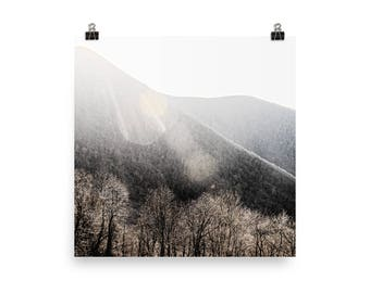 blue ridge mountains landscape print | nature photography