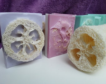 Vegan Luffa Soap Bars