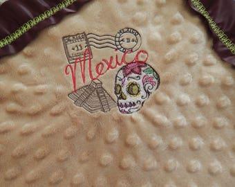 Cartas Marcadas Baby Blanket
