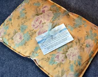 Microwave Heating Pad, Large Corn Bag, Microwave Heat Pack, Bed Warmer, Corn Heated Bag -- Large 10x14 --  Grannys Garden - LAST ONE
