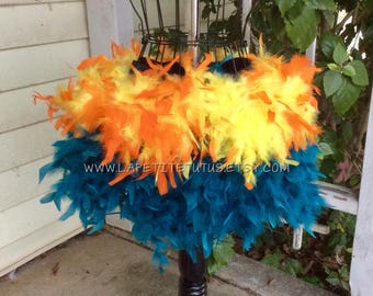 Adult cake smash feather tutu, rave tutu, photo prop, rooster feather skirt, mommy to be, hand sewn, maternity skirt, feather skirt, womens