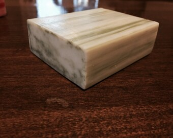 Bulk Olive Oil Shea butter soap; 4 bars natural triple milled moisturizing soap made with organic Shea butter 3.5oz