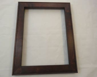 9x12 Maple Reddish Brown Dye Picture Frame