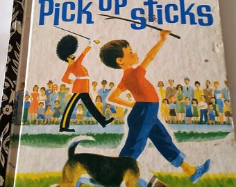 PICK UP STICKS  Little golden book