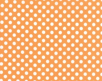 Moda DOT DOT DASH Quilt Fabric 1/2 Yard By Me & My Sister - Orange 22263 13