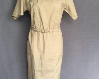 Vintage Willi of California kahki Dress