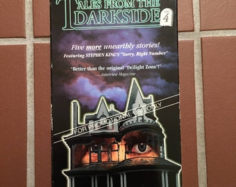 Tales from the Darkside VHS * horror VHS *