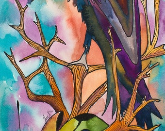 Death - 11x33 Giclee Print