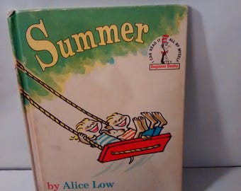 Summer by Alice Low with pictures by Roy McKie (Random House book club edition, 1963),
