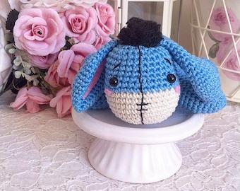 Crochet Eeyore disney amigurumi