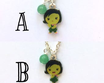 Disgust - Inside Out Inspired Necklace