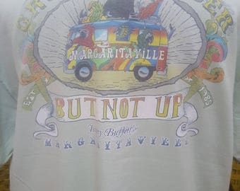 Vintage JIMMY BUFFETT / Margaritaville / very nice designed / Large size tshirt