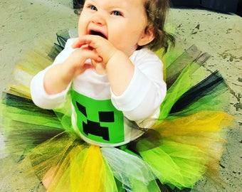 MineCraft Creeper Childrens Baby Costume