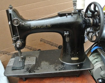 Singer 132K10 Industrial Sewing Machine,6 Layers of leather sewn, for Horse Rugs, Bouncy castles, Sailmaking, Uplholstery,DogCollars,Webbing