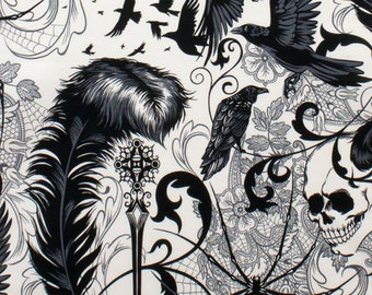 After Dark in Black and white, Nicole's Prints by Aexander Henry, yard