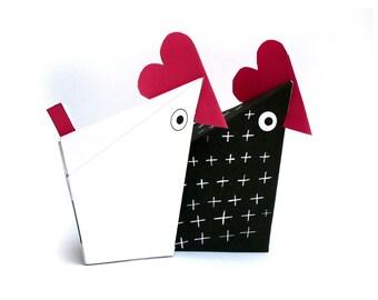 Boite à chocolat, poules imprimables - decor de pâques-kit  anniversaire- deco- boites à chocolats