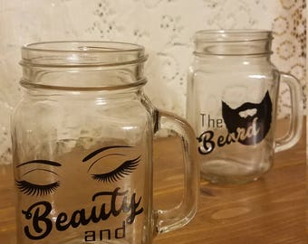Beauty and the Beard Glasses