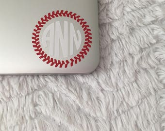 Baseball Stitched Monogram