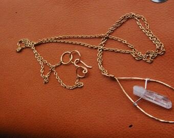 Quartz Love Necklace