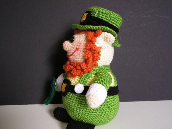 Free Amigurumi Leprechaun Pattern : Pudgy leprechaun pdf crochet pattern english only