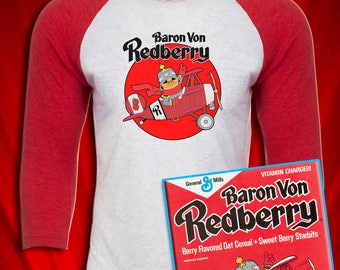 Baron Von Redberry Vintage Cereal Jersey FREE SHIPPING