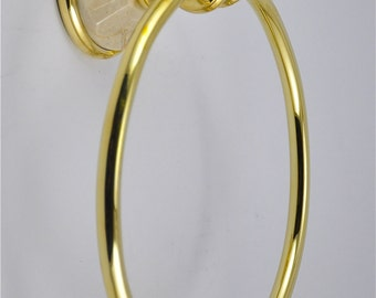 Botticino Marble Towel Ring
