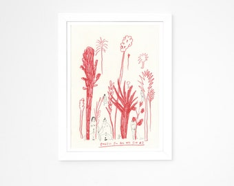 Original Illustration    Forest Poo and Wee Club 3