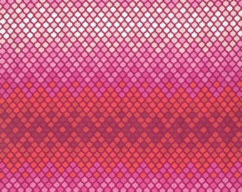 Eden by Tula Pink for Free Spirit - Mosaic - Magenta - 1/2 Yard Cotton Quilt Fabric 516