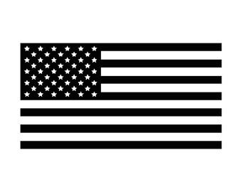 American Flag SVG, American Flag Cut Files - SVG, Studio, Studio3 - Silhoutte, Cricut and More - BD247