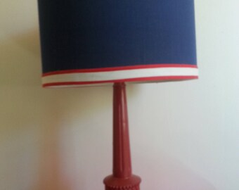 Patriotic - Red,White, And Blue Lamp