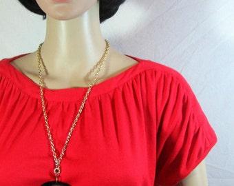 RED GRECIAN DRESS by Gordon of Philadelphia medium
