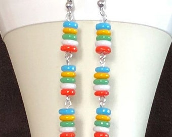 Bright and Colorful Earrings