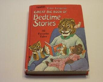 Bedtime Stories- Tibor Gergely's Great Big Book of Bedtime Stories (1967) - Children's Book, Story Book