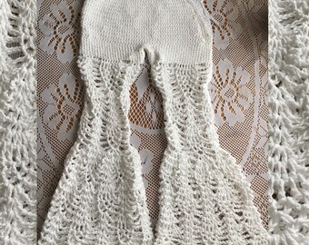 Crochet Bell Bottoms, 100% Cotton Wide Leg Pants, Lace Bell Bottom, Cotton Flow Pants, Cotton Crochet Flares, Flare Leg Lace Bottoms