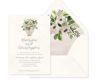 Sweet Bouquet Wedding Invitations